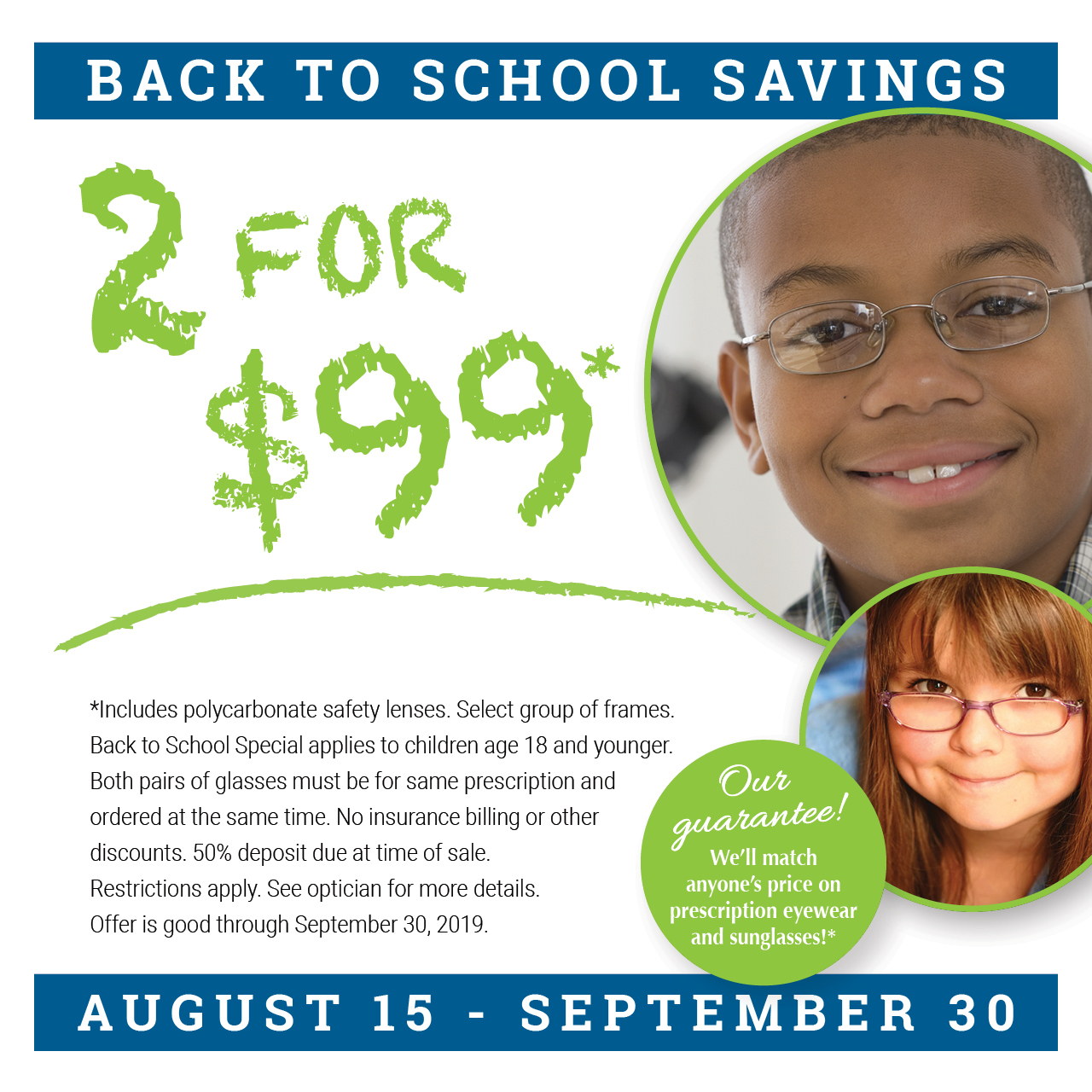 SJEA Back to School Savings