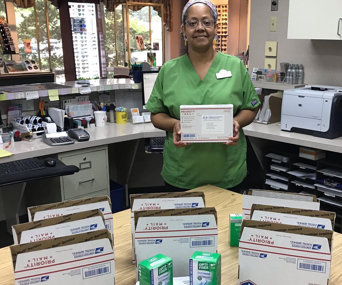 Contact Lens Care Kits Provided to Area Schools