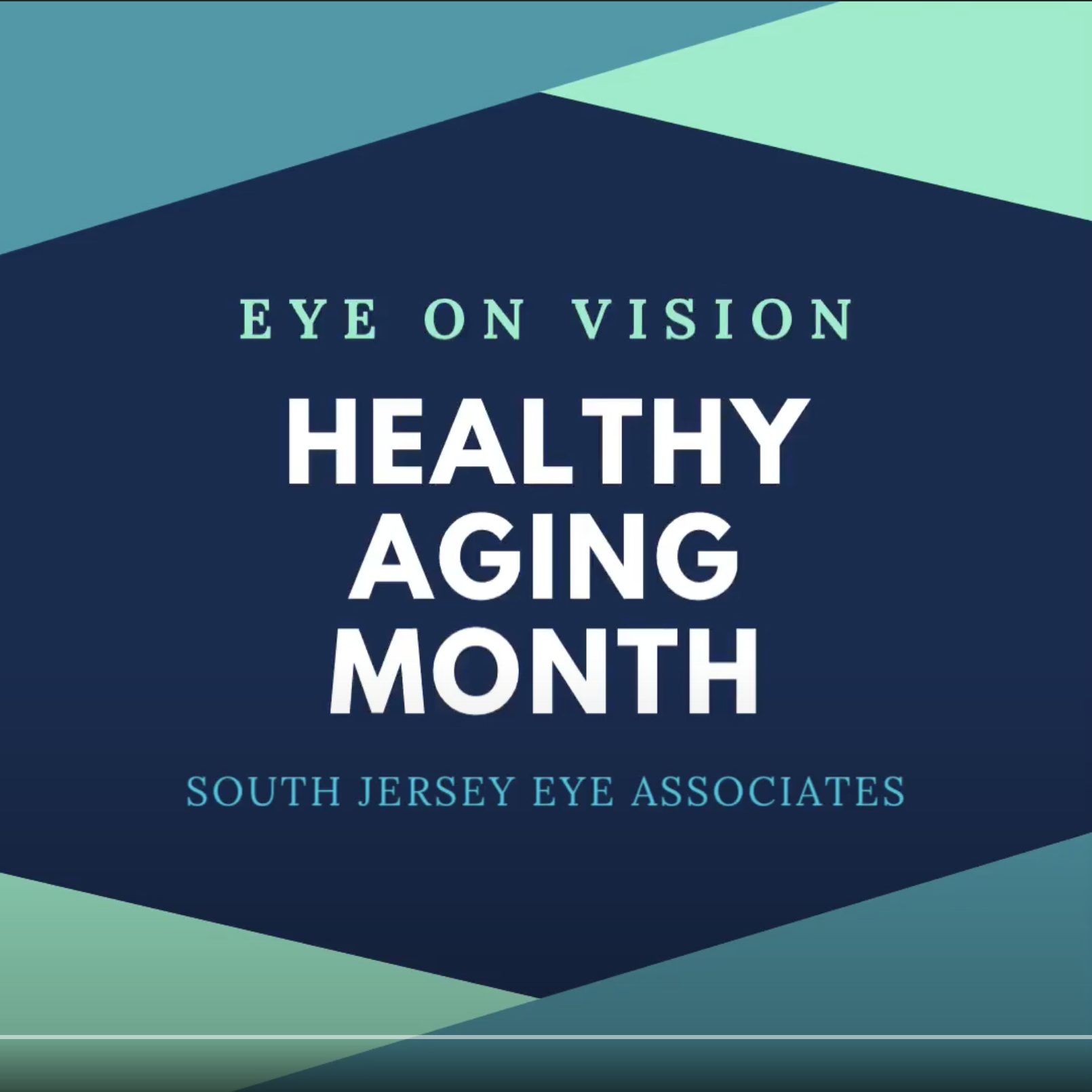 EYE ON VISION: Healthy Aging Month